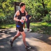 Sioux Falls Marathon nearing the finish line