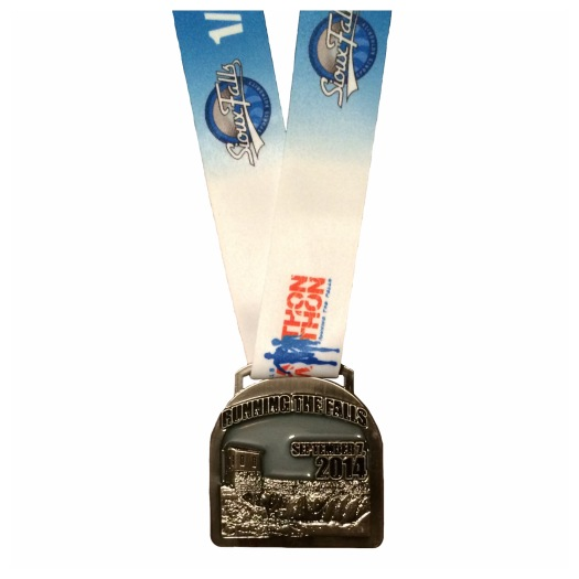 Sioux Falls Half Marathon 2014 finishers medal