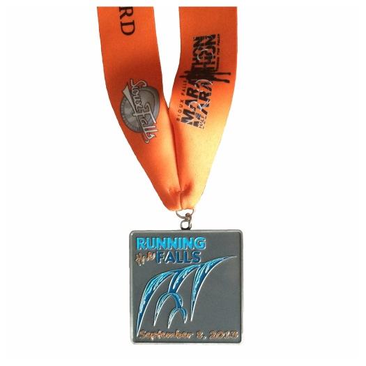 Sioux Falls Marathon 2013 finishers medal